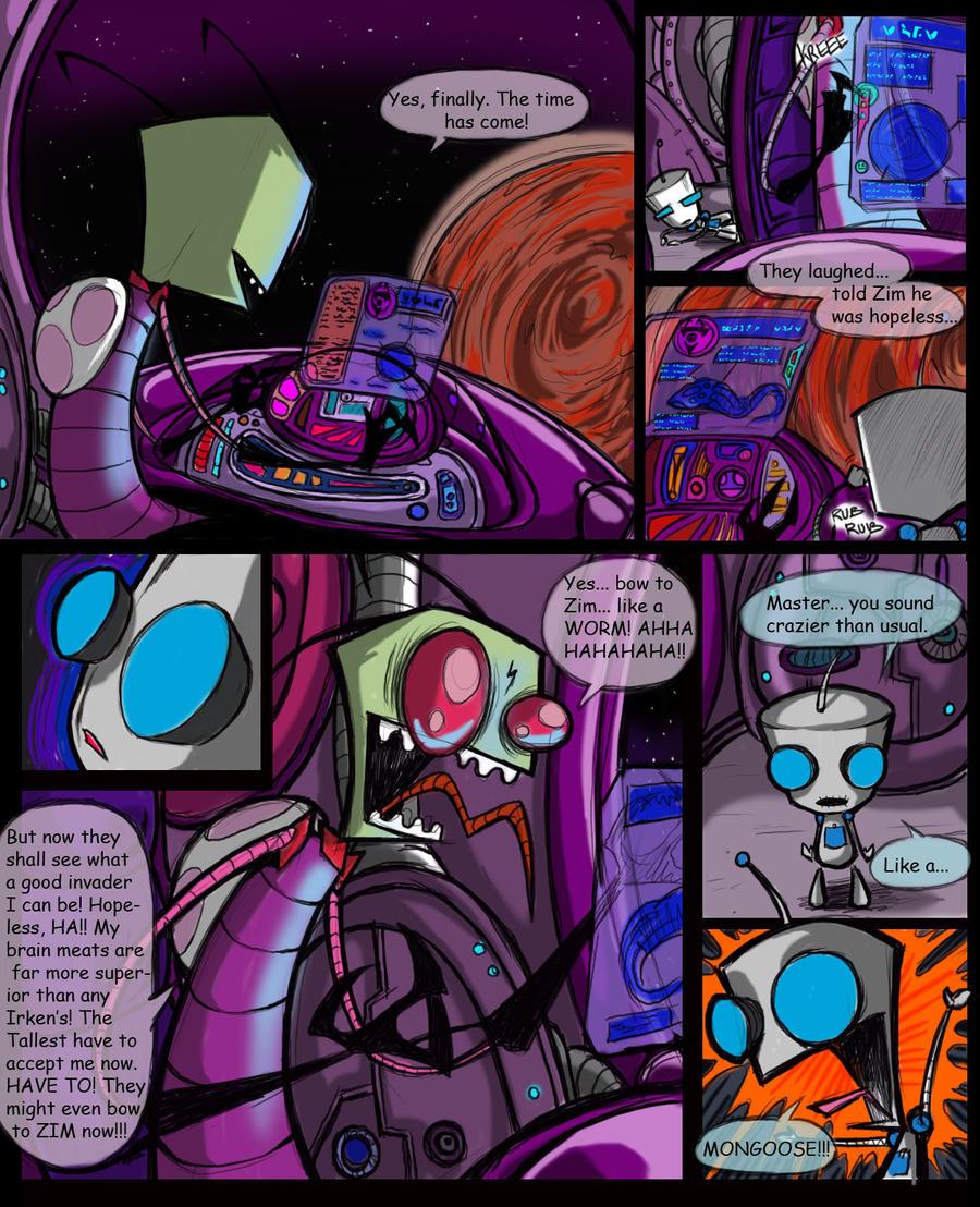 Invader Zim Fan Comics Invader zim by crackcat911