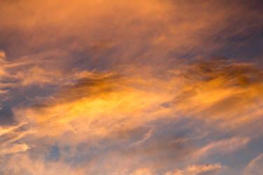 Orange juice clouds