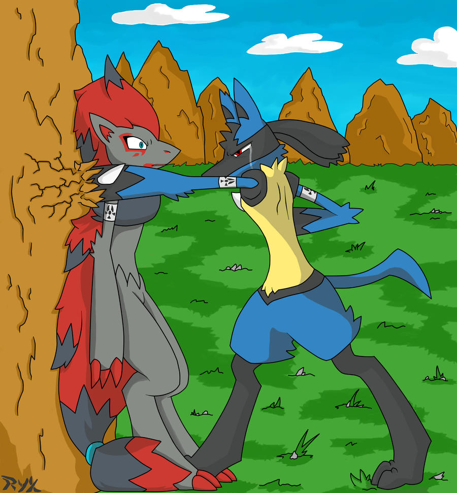 Lucario And Riolu Fanfiction | www.imgkid.com - The Image ...