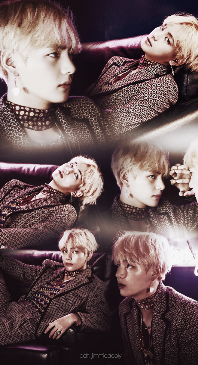 BTS V Wallpaper #WINGS by jimmiedooly on DeviantArt