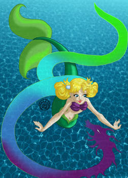 Gabrielle as Ariel