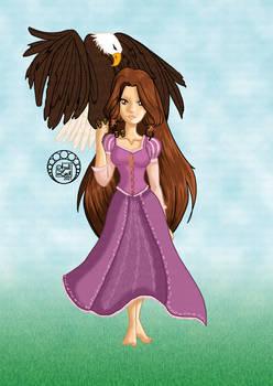 Michelle as Rapunzel