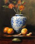 Mandarins and Chinese Lanterns