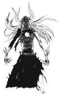 Hollow Ichigo by Mechoidyll