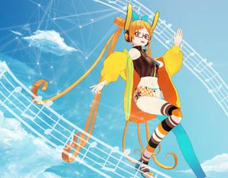 Sky Blue Song by ryuDrakita