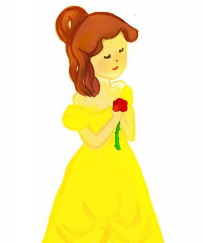 sketch this: Belle by Brujitaloveskurama