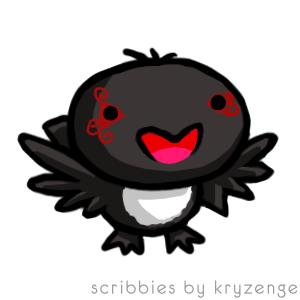 Harlequin Raven by HarlequinRaven