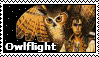 Owlflight Stamp by HarlequinRaven