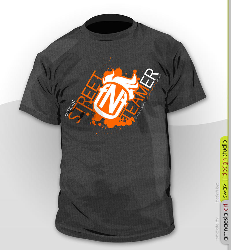TShirt Design: FNF S.Team