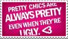 Stamp: Pretty Chics