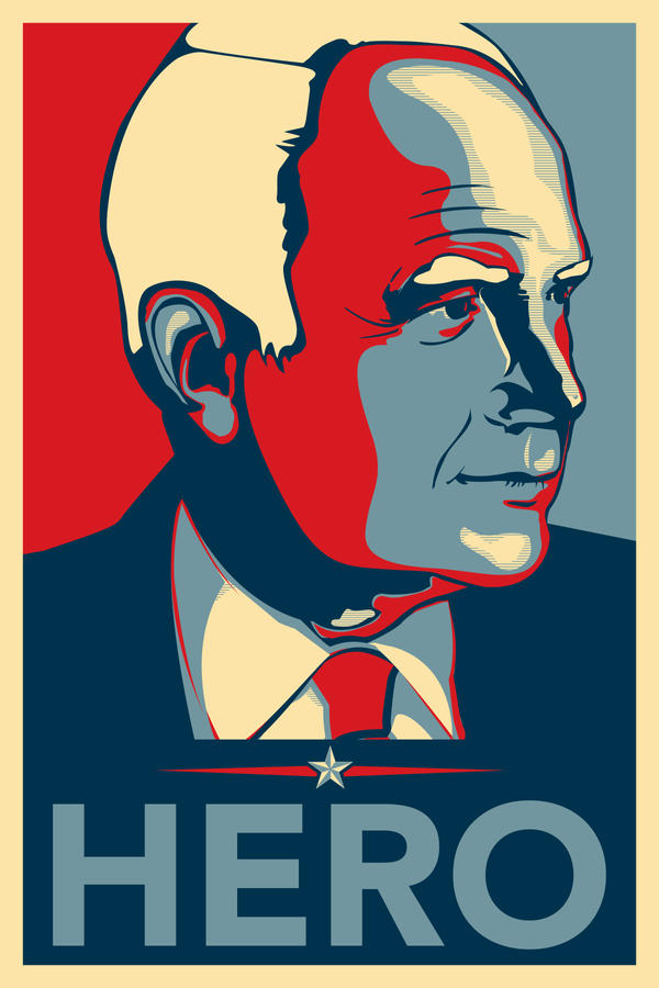 McCain Hero Poster - Alt by angelaacevedo