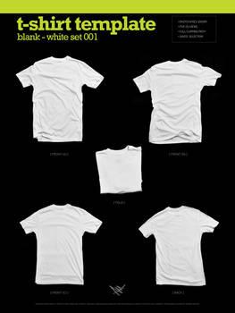 Blank T-Shirt - White 001