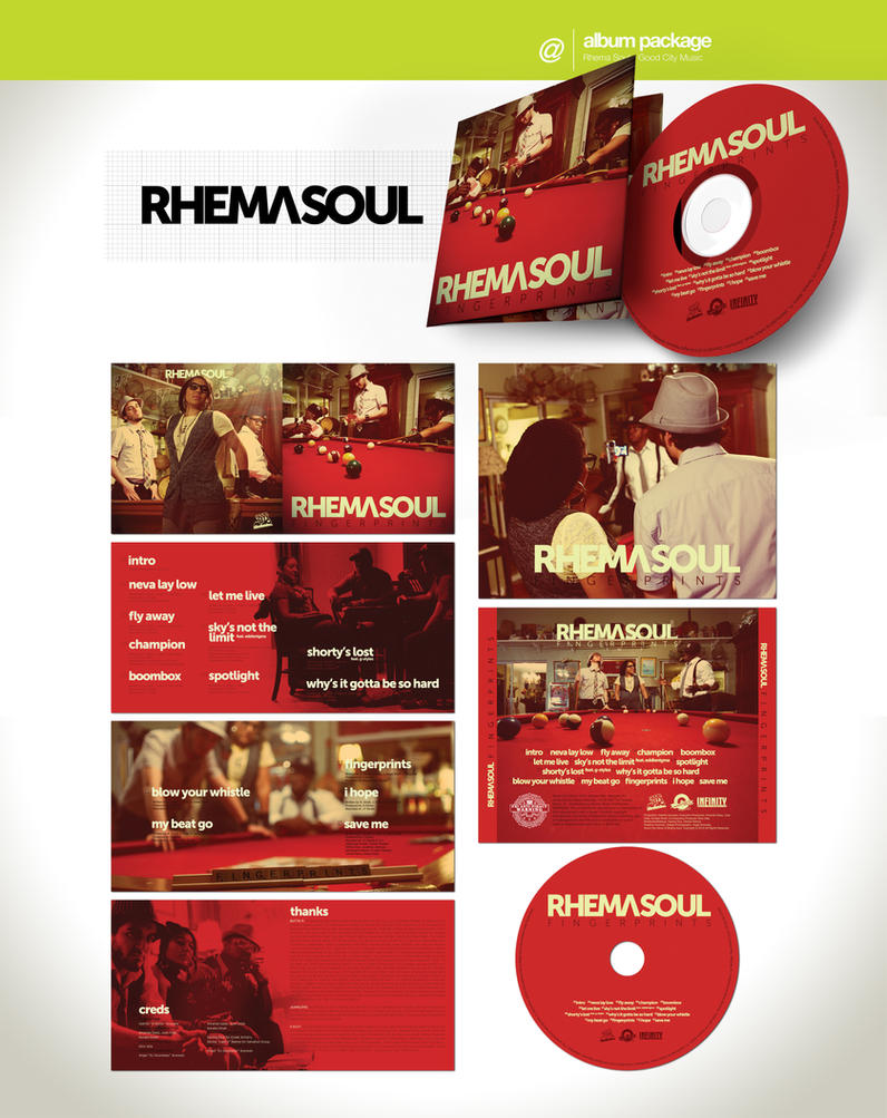 Album Art - Rhema Soul by angelaacevedo