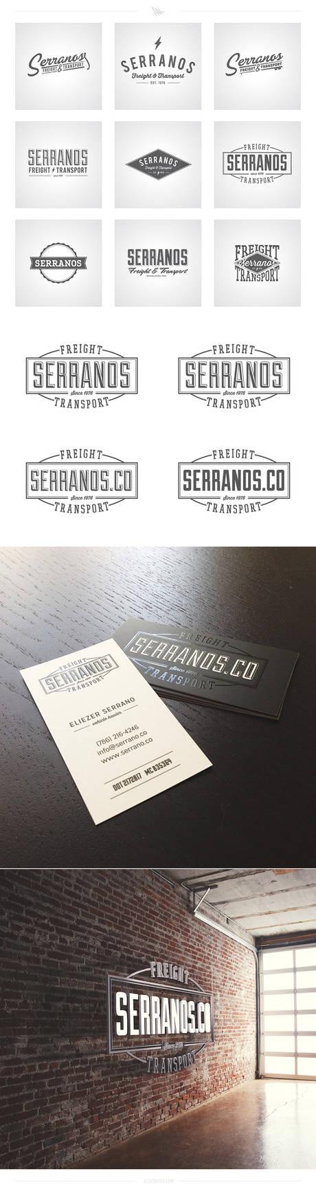Serranos Co. Logo Concepts