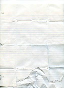 Texture: Notebook Paper - 3