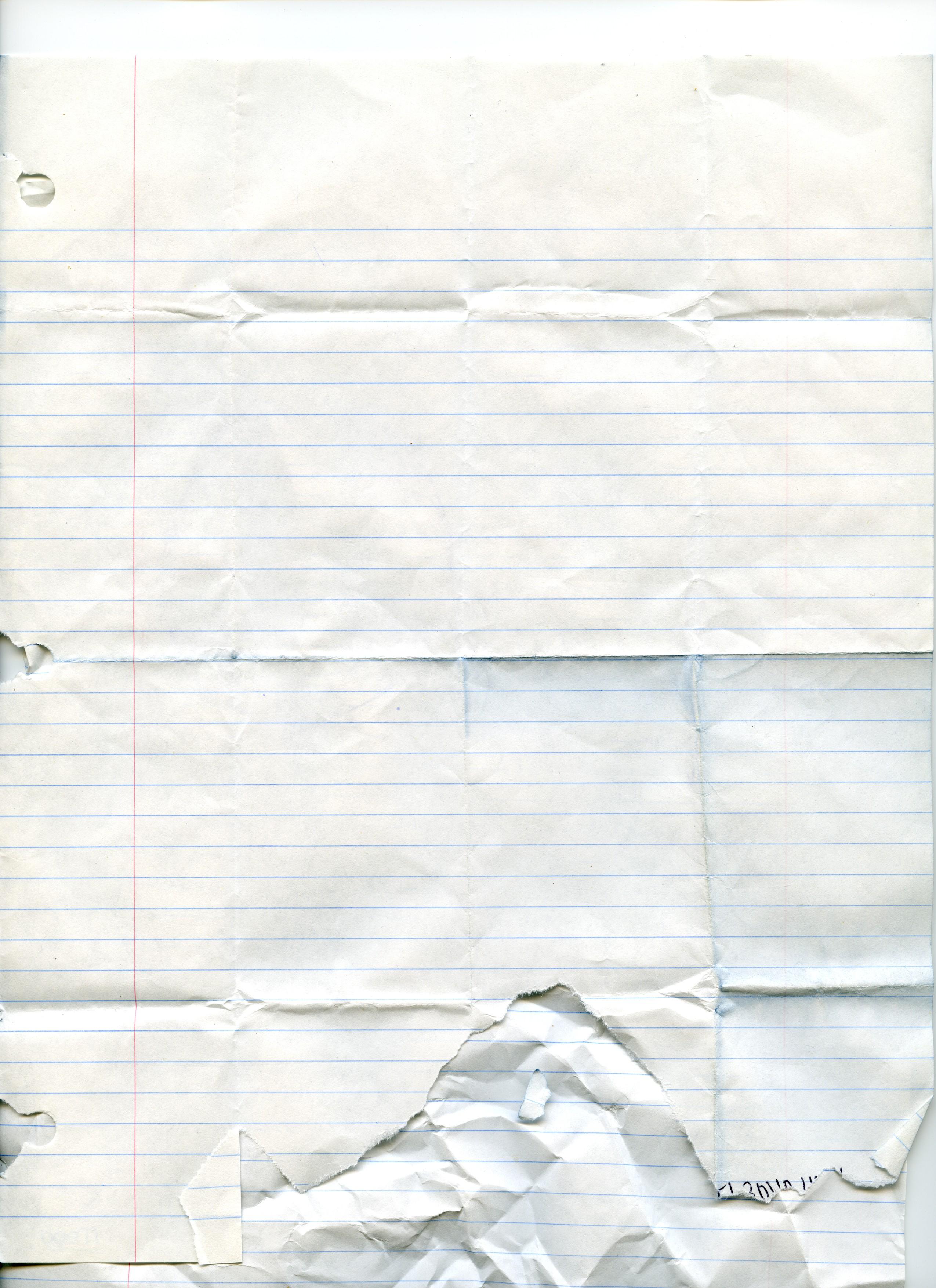Texture: Notebook Paper - 3 by angelaacevedo