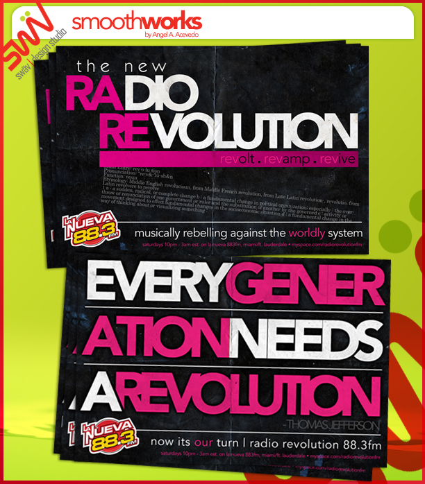 Radio Rev - Postcard 2007