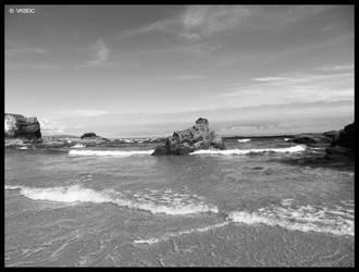 Praia das Catedrais V by vksDC
