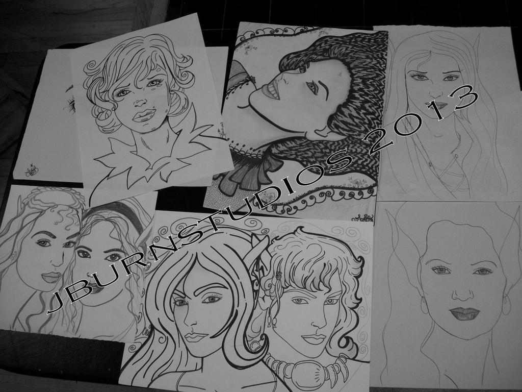 Drawing load... by Jburnstudios