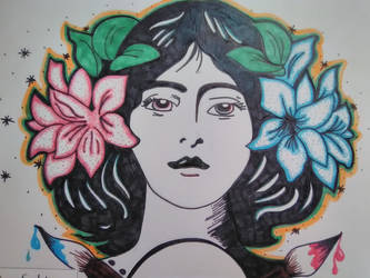 Lovely lady by Jburnstudios