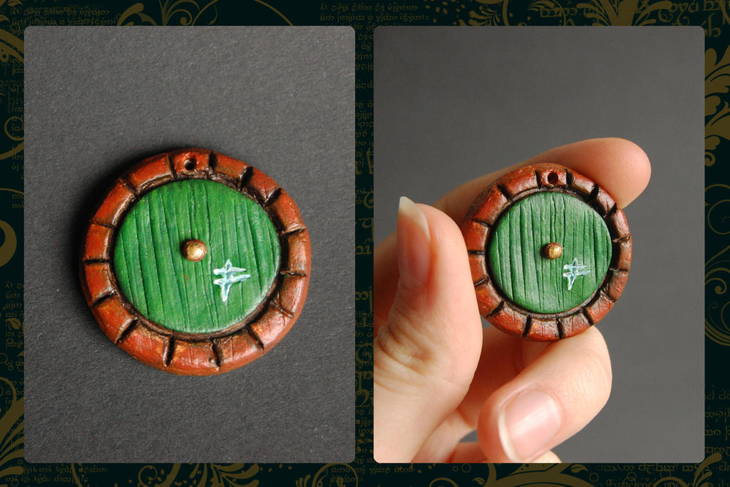 Delightful Hobbit Adventure Charm   Door By Theandro ...