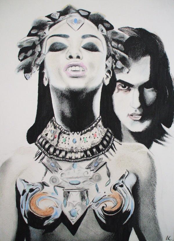 Lestat y Akasha en la Reina de los condenados Queen_of_the_Damned_by_LianneC
