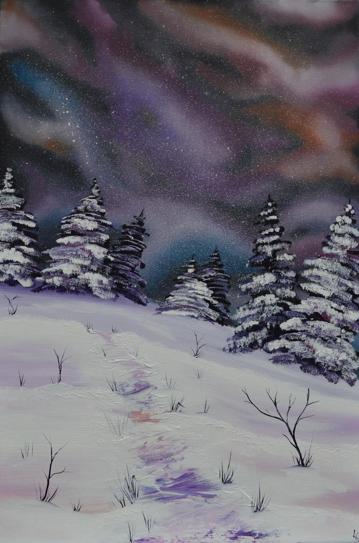Galaxy Snow by LianneC