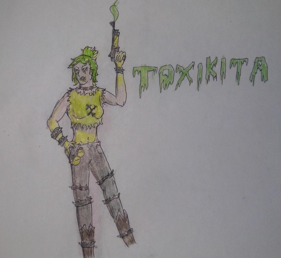 Ninjago Toxikita
