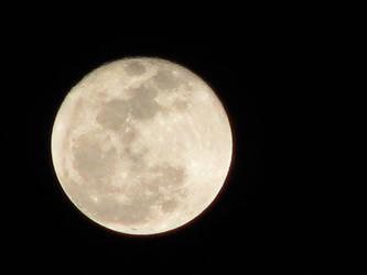 Full Wolf Moon Stock