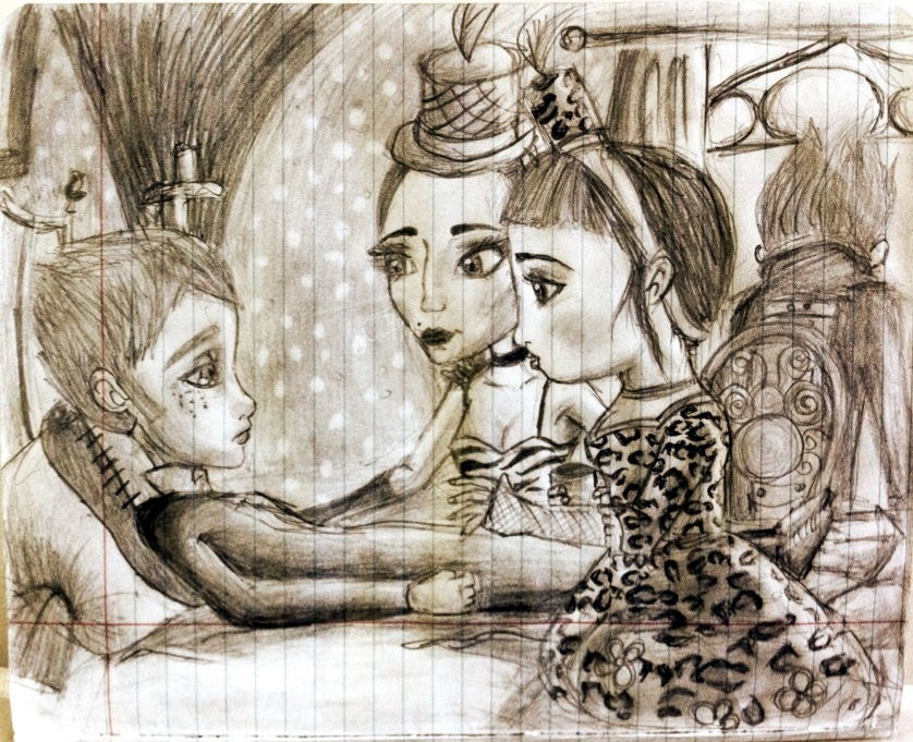 jack et la mecanique du coeur anna luna y arthur by quiritacandlelit on deviantart. Black Bedroom Furniture Sets. Home Design Ideas