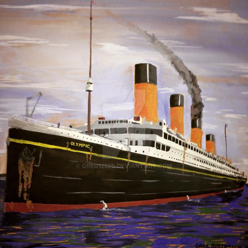 Rms Olympic: 1935 By Greg12580 On DeviantArt