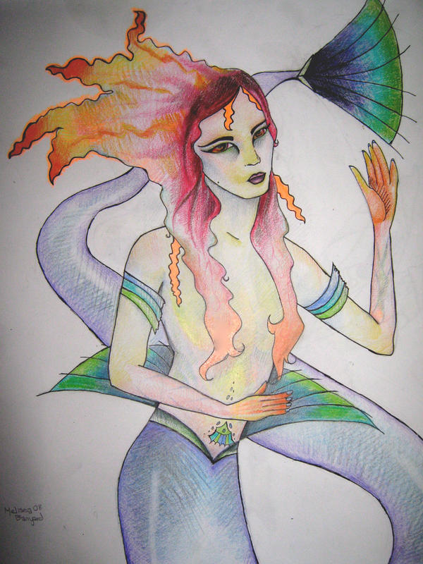 Mermaid by SpookCake