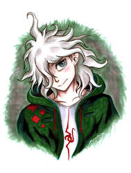 Nagito from Danganronpa by alexaAnime1