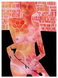 Pink Nude by Saliwanchik