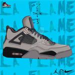 Nike Air Jordan 4 x Travis Scott ''Olive''