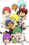 Kuroko no Basket - Chibi