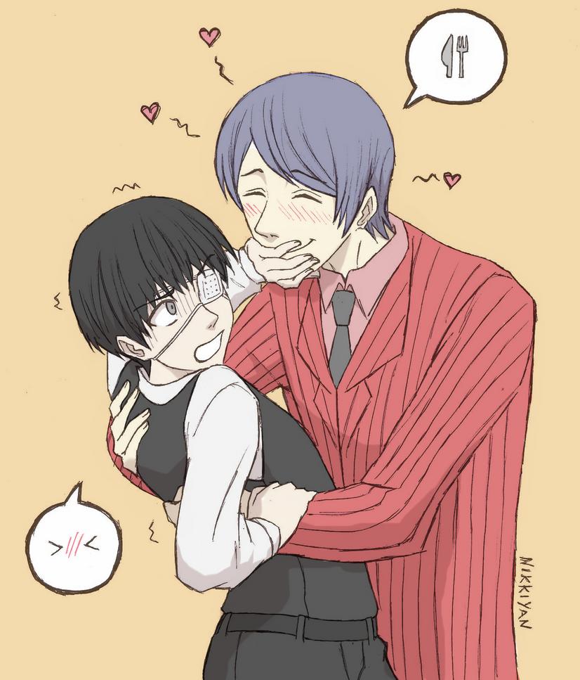 Can i eat you kaneki kun by nikki yan32 on deviantart
