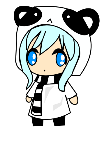 Chibi Panda Girl By Kawaiimews On Deviantart