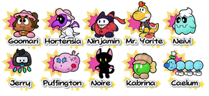 Partners - Paper Mario: The Mirror of Creation