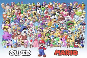 Super Mario by ShyKitty20