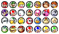 Mario Party characters by ShyKitty20