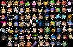 Super Smash Bros icons