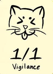 1/1 white cat vigilance by IzaCor