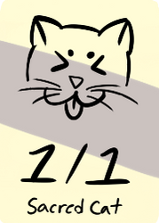 1/1 Sacred Cat zombie by IzaCor