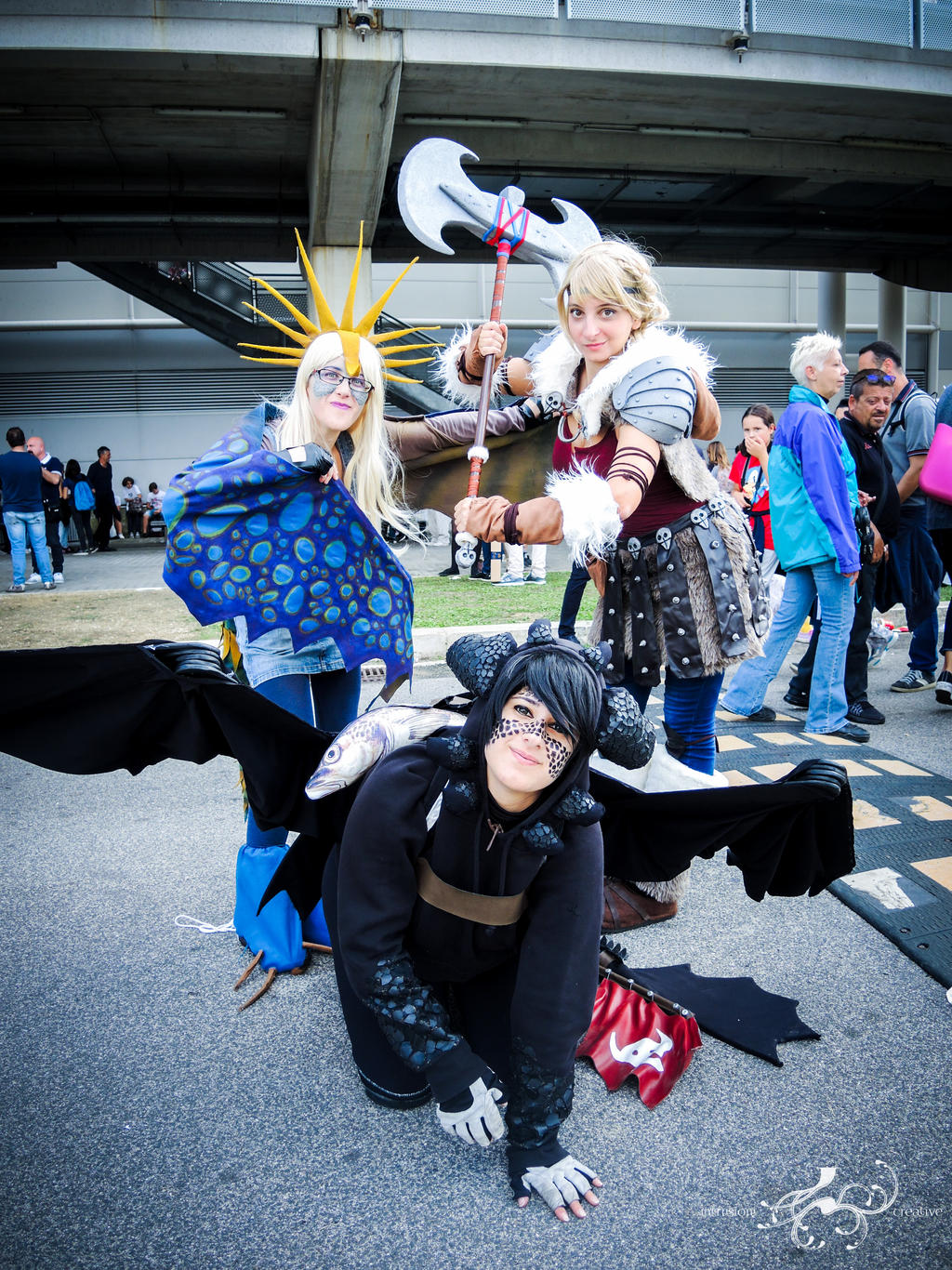 How to Train Your Dragon, Romics 2016, october