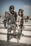 Post apocalyptic cosplay, Romics 2017, april