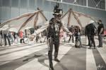 Steampunk people, Romics 2017, april