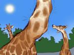 Fun in the Giraffe Exhibit Pg 9