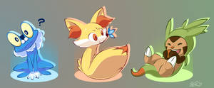 Cutest Pokemon Starters