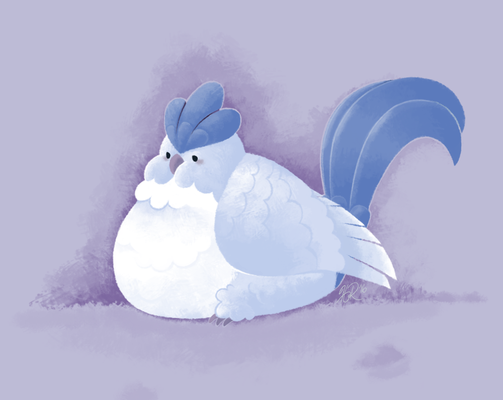 Legendary Snow Poff by hevromero